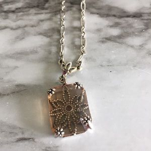 ADD ON   silver coloured Pendant necklace
